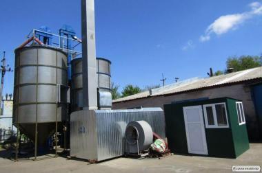 Зерносушильный комплекс на твердом топливе