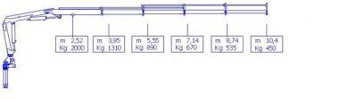 Кран маніпулятор HC 70