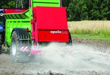 Розкидач органічних добрив APOLLO