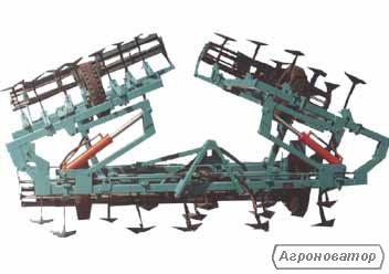 Культиватор паровой навесной КПН-8