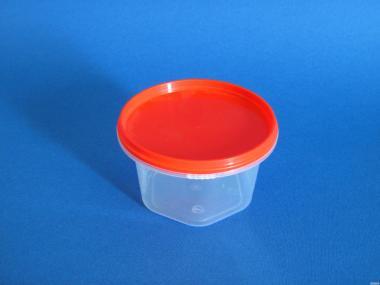 Банку пластикова (полипропиленовя) харчова з кришкою