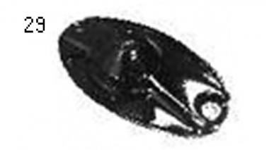 Запчастини для дискової косарки Unia, Alka