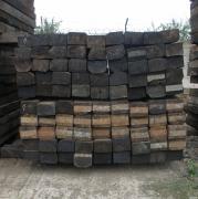Продаються дерев'яні шпали б/у, будівельна, на дрова.