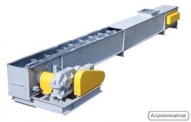 Продам Транспортер ленточный, скребковый транспортер УТФ 200/320,ролик