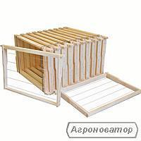 Рамка   для улья  с натянутой проволокой и Латунными втулками.