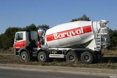 Ремонт гідравліки бетонозмішувачів Baryval