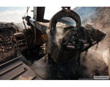 Антрацит вугілля хорошої якості