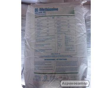 DL – метионин кормовой 99%