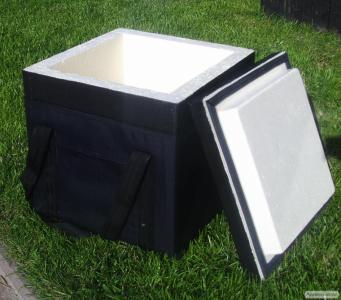 Термоконтейнер (термобокс) на 28,6 літра з сумкою для перенесення