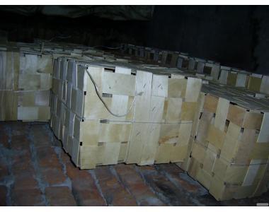 Корзина деревянная