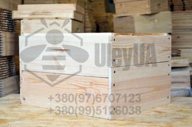 Улей 12-рамочный на два корпуса «Дадан» 300мм