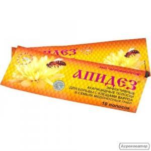 Продам смужки Апідез для лікування і профілактики вароатозу бджіл.