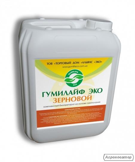 Гумат калия зерновой ТМ  Гумилайф ЭКО
