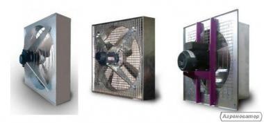 Вентилятори стінові ПО-12,5