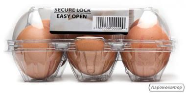 Упаковка для курячих та перепелиних яєць