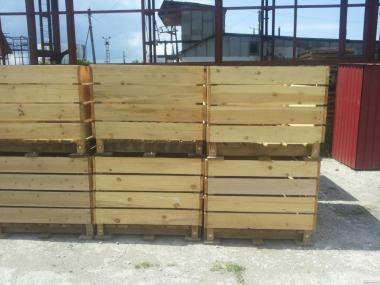 Контейнер дерев'яний для загальної та фруктів
