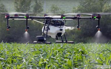 DJI Agras MG-1 - сільськогосподарський мультикоптер