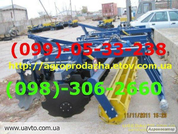 Борона дискова тракторна АГД