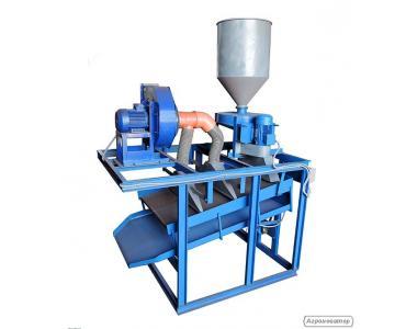 Установка обрушивания семян подсолнечника 1000 кг/час