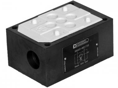 Монтажна плита з перепускним клапаном RM4*-MP