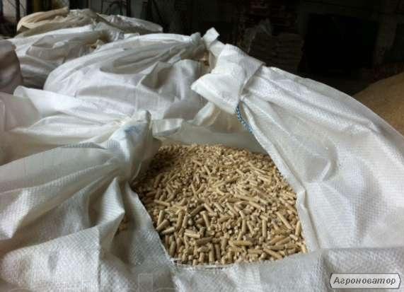 Топливные гранулы (пеллеты) 8 мм и 10 мм из древесины