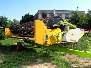 Жатка зерновая Claas С750 (2002)