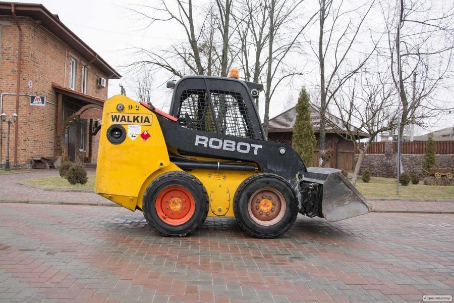Фронтальный минипогрузчик JCB Robot 160