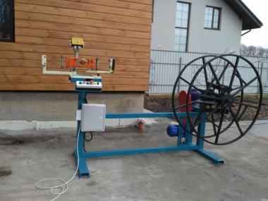 Перемоточні станки- для перемотування кабеля, провода,троса