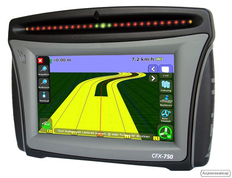 Система паралельного водіння Тrimble EZ-Guide 750