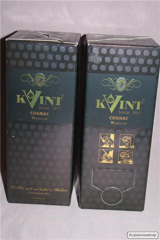Коньяк Квинт (Kvint) 2 литра