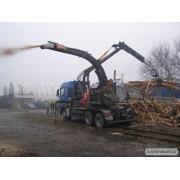 Переработка древесных отходов
