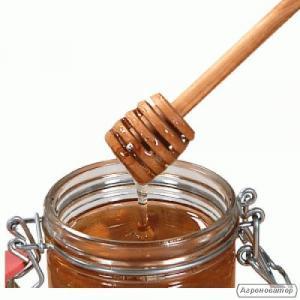 Деревянная ложка для меда ( палочка)
