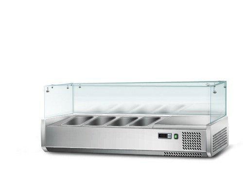 Витрина для гастроемкостей GGM AGS124 (холодильная)