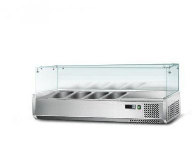 Вітрина для гастроємкостей GGM AGS124 (холодильна)