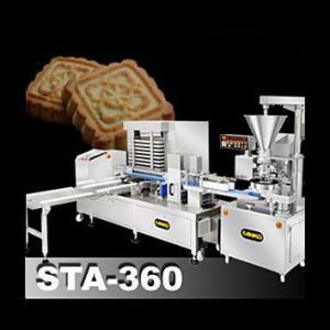 Автоматическая линия производства штампованного печенья с начинкой SD-97W + STA-306