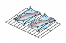Деко для м'яса і риби (гриль) GC 113 LAINOX