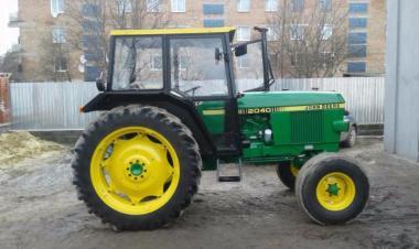 Трактор John Deere 2040 (1984)