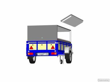 Термобокси (термоконтейнер) для автопричепа.