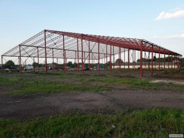Замена кровли и ремонт зернохранилищ, ангаров, складских помещений