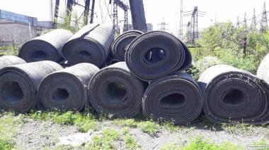 Резиновый настил-лента конвейерная (транспортерная)