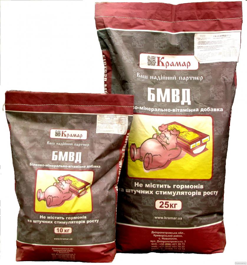 СК 3 БМВД 10% для Холостих та Супоросних свиноматок