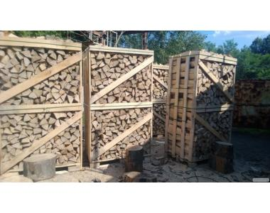дрова колоті твердих порід,метрівки