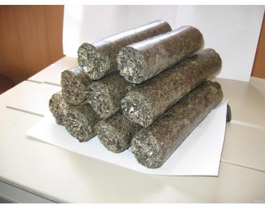 Продаем брикеты топливные из лузги подсолнечника