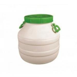 Бидон пищевой пластмассовый, 30 л. Горловина 220 мм.