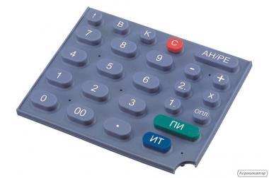 Виготовлення гумових (силіконових) клавіатур і панелей для приладів