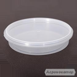 Тара пластикова харчова 0.2 л (сертифікована) Доставка по Україні