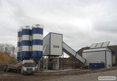 Стаціонарний бетонний завод SUMAB