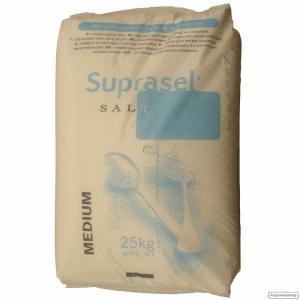 Сіль середнього помелу Suprasel Medium ( Akzo Nobel, Данія)