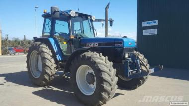 Трактор Ford / NEW HOLLAND 8240 sle turbo, 4WD 1993 р