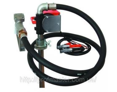 Насос бочковий 24В 40 л / хв для дизельного палива
